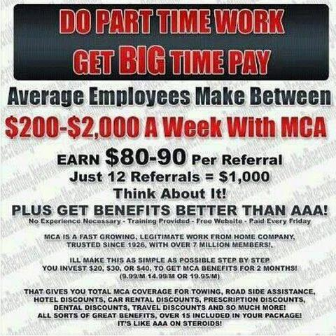 My mca home Motor club of america careers